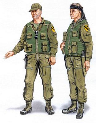 1/48 UH-1イロコイスパイロット2体