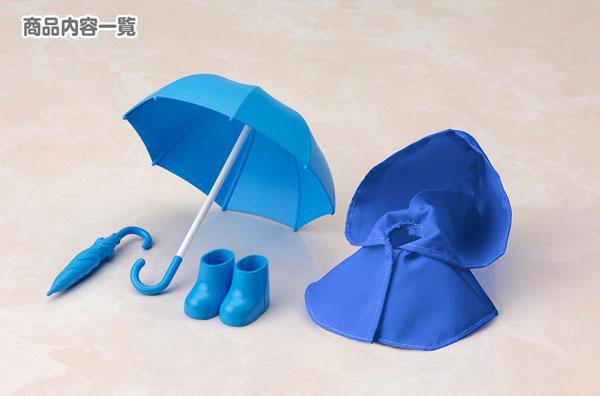 キューポッシュえくすとら 雨の日セット(青)(再販)[コトブキヤ]《発売済・在庫品》