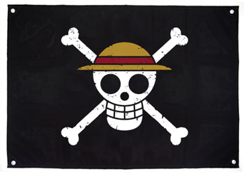 ワンピース 麦わらの一味海賊旗(再販)[コスパ]《02月予約》