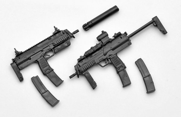 Little Armory LA009 MP7A1 Type Plastic Model Released LA009 MP7A1タイプAccessory