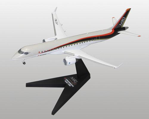 1/200 三菱リージョナルジェット MRJ90 プラモデル(再販)[ファインモールド]《取り寄せ※暫定》