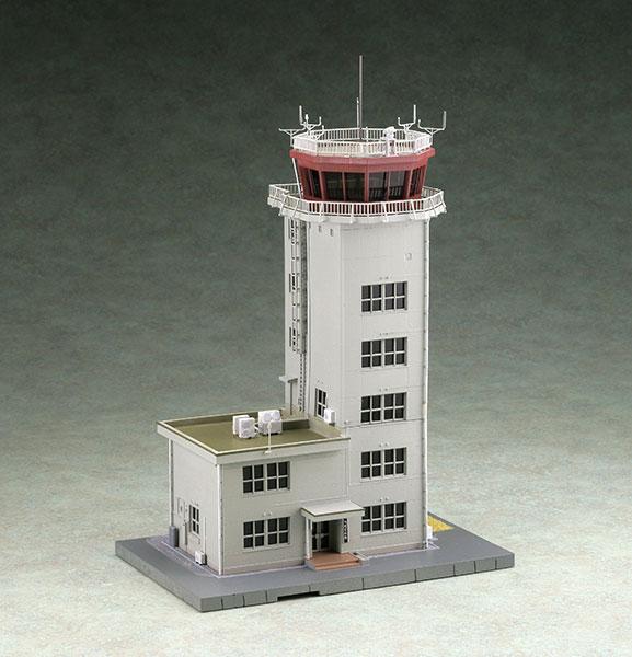 技MIX 技AC920 1/144 航空基地管制塔 無彩色キット[トミーテック]《発売済・在庫品》