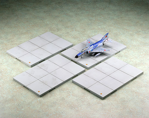 技MIX 技AC921 1/144 航空装備品1 駐機場ベース (4枚セット)(再販)[トミーテック]《取り寄せ※暫定》