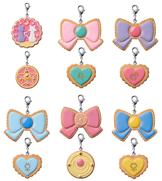 [New Merch] Sailor Moon Cookie Charm Set FIG-COL-8609