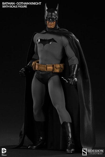 DCコミックス 1/6スケールフィギュア サイドショウ・シックス・スケール バットマン(ゴッサム・ナイト版)[サイドショウ]【送料無料】《在庫切れ》