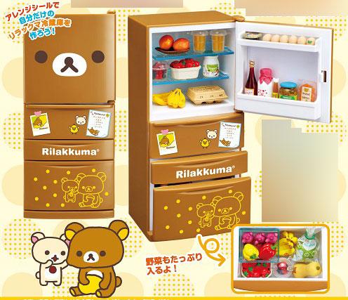 リラックマ 冷蔵庫(再販)[リーメント]《発売済・在庫品》