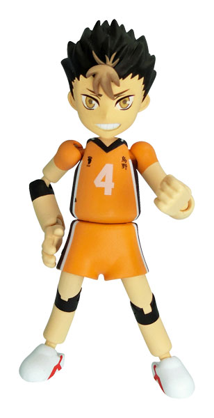 Yakudou Sotai PLAY GURE feat.Haikyuu!! PG06 Yu Nishinoya Pre order feat.ハイキュー!! PG06Scale Figure