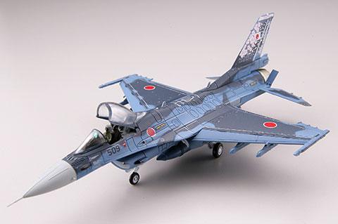 技MIX 航空機シリーズ AC411 1/144 航空自衛隊 F-2A 第3飛行隊(三沢) 空自設立60周年[トミーテック]《取り寄せ※暫定》