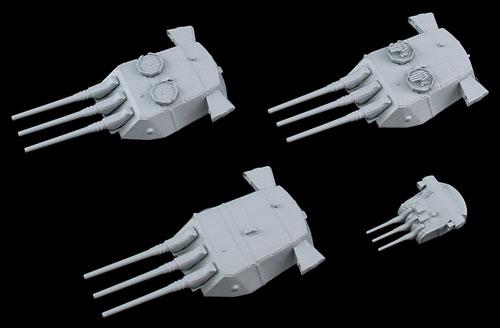 1/700 ネオ イクイップメントシリーズ 新 WWII 日本海軍艦船装備セット(8) プラモデル[ピットロード]《在庫切れ》