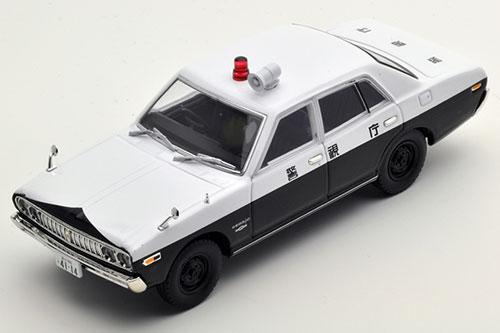 トミカリミテッドヴィンテージ ネオ LV-N43-西部警察04 日産セドリック パトロールカー(白/黒)[トミーテック]《取り寄せ※暫定》