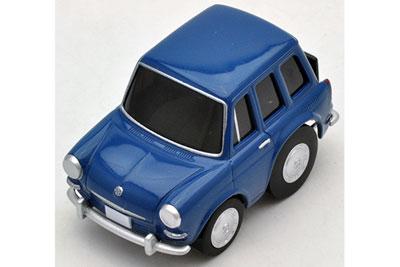 Tomytec-Choro-Q-Zero-Z-32a-Volkswagen-Tipo-III-Variante-Blu