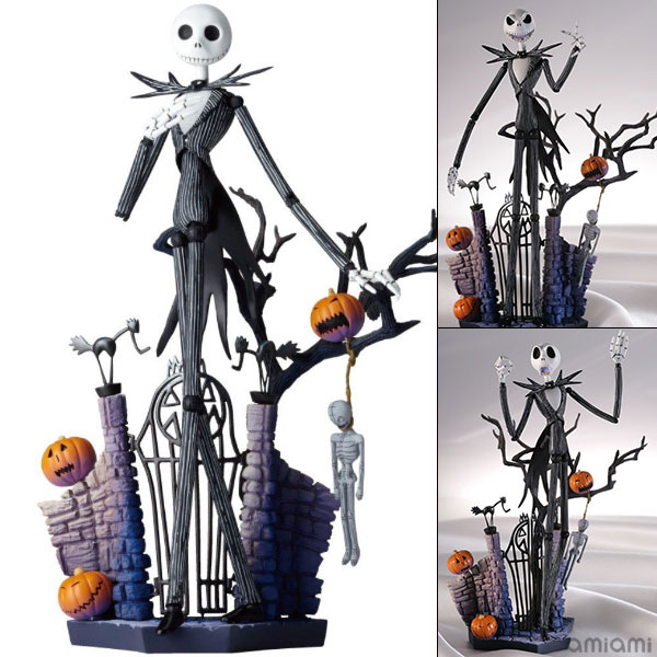 Legacy of Revoltech Tokusatsu Revoltech LR Nightmare Before Christmas Jack Skellington Pre order LRAccessory