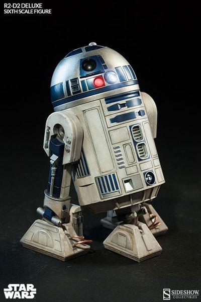 スター・ウォーズ 1/6スケールフィギュア ヒーロー・オブ・レベリオン R2-D2(再販)[サイドショウ]【送料無料】《在庫切れ》