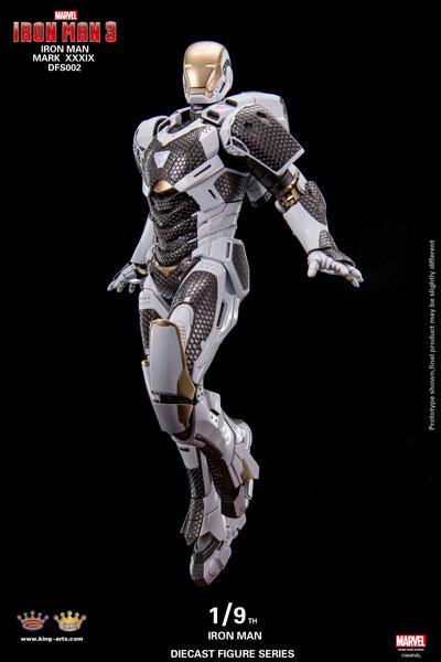 アイアンマン3/ アイアンマン マーク39 スターブースト 1/9 ダイキャストフィギュア[キングアーツ]【送料無料】《在庫切れ》