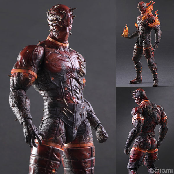 Play Arts Kai Metal Gear Solid V: The Phantom Pain: Burning Man Pre order VScale Figure