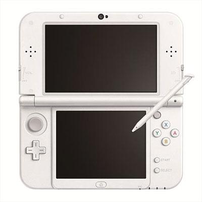 Newニンテンドー3DS LL 本体 パールホワイト[任天堂]【送料無料】《発売済・在庫品》