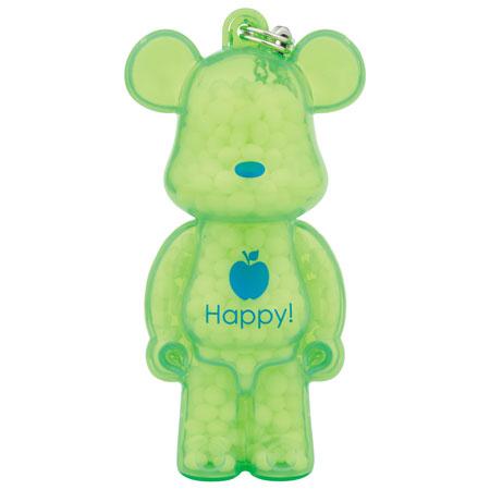 AROMA BE@RBRICK KUMAROMA Happy![青リンゴの香り][ノーマンクリエイティブ]《在庫切れ》