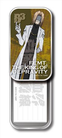 コウブツヤ 血界戦線 ミニ箋入りスライド缶 05.堕落王フェムト[まさめや]《在庫切れ》