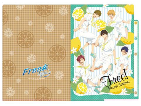Free!-Eternal Summer- 3ポケットクリアファイル レモン[タカラトミーアーツ]《取り寄せ※暫定》