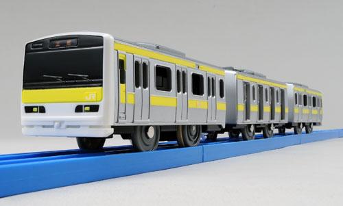 プラレール ぼくもだいすき!たのしい列車シリーズ ドア開閉E231系500番台総武線[タカラトミー]《在庫切れ》