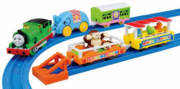 プラレール きかんしゃトーマス パーシーと動物園貨車セット[タカラトミー]《在庫切れ》
