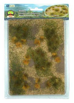 ジオラマシート 草地 (草むら付) HOスケール(再販)[JTTミニチュアツリー]《07月予約》