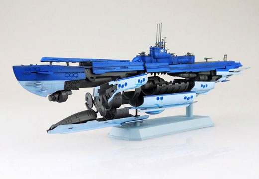 蒼き鋼のアルペジオ -アルス・ノヴァ- No.14 1/350 潜水艦 蒼き鋼イ401 プラモデル(再販)[アオシマ]《取り寄せ※暫定》