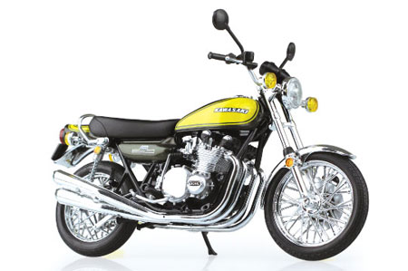 1/12 Complete Motorcycle Model Kawasaki 900Super4(Z1) Yellow Ball(Pre-order)1/12 完成品バイク Kawasaki 900Super4(Z1)イエローボールAccessory