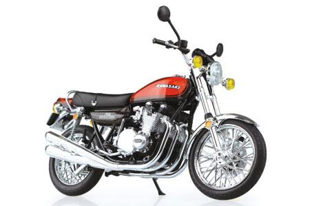 1/12 完成品バイク Kawasaki 750RS(Z2)ファイヤーボール(再販)[スカイネット]《取り寄せ※暫定》