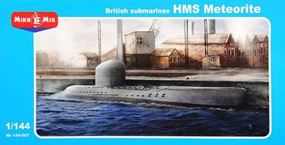 あみあみ [キャラクター&ホビー通販]   1/144 英HMSメテオライト・ヴァルター機関実験艦(MicroMirブランドMM144007) プラモデル