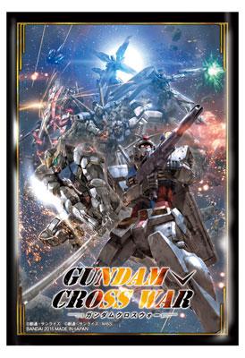 GUNDAM CROSS WAR オフィシャルスリーブ 【GCW-S01】 パック[バンダイ]《取り寄せ※暫定》
