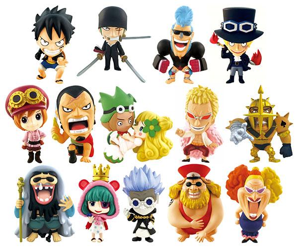 Ani-chara Heroes - ONE PIECE Dressrosa Hen Part.3 15Pack BOX(Pre-order)アニキャラヒーローズ ワンピース ドレスローザ編 其の弐 15個入りBOXAccessory