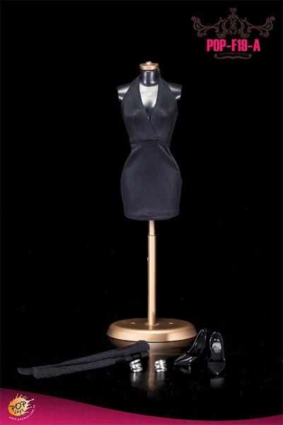 1/6スケール セクシーローカットホルタードレス コスチュームセット(F19A)(ドール用衣装)[POP Toys]《在庫切れ》