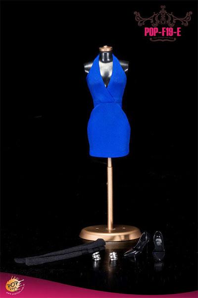 1/6スケール セクシーローカットホルタードレス コスチュームセット(F19E)(ドール用衣装)[POP Toys]《在庫切れ》