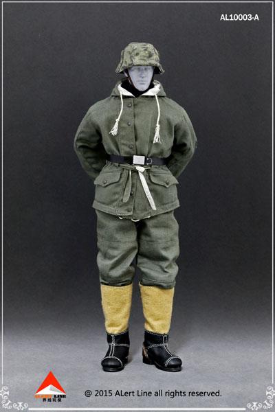 1/6 WWII ドイツ ナチ党 武装親衛隊(SS)&ドイツ国防軍スノーダブルサイド コットンパッドジャケットセット A(ドール用衣装)[Alert Line]《在庫切れ》