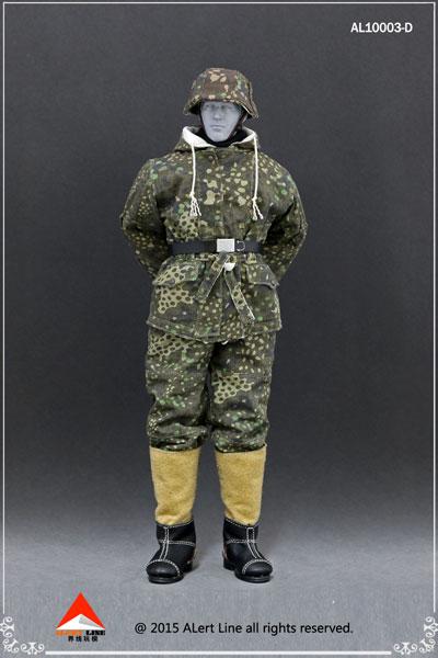 1/6 WWII ドイツ ナチ党 武装親衛隊(SS)&ドイツ国防軍スノーダブルサイド コットンパッドジャケットセット D(ドール用衣装)[Alert Line]《在庫切れ》