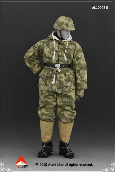 1/6 WWII ドイツ ナチ党 武装親衛隊(SS)&ドイツ国防軍スノーダブルサイド コットンパッドジャケットセット E(ドール用衣装)[Alert Line]《在庫切れ》