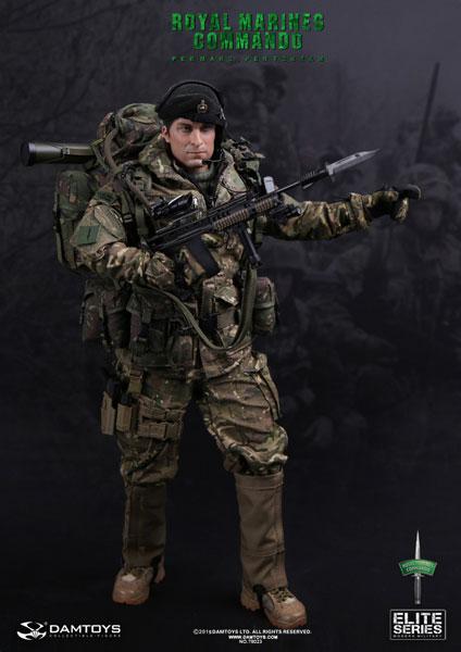 エリート・シリーズ 1/6スケール イギリス海軍 海兵隊 隊員(78023)[DAMTOYS]【送料無料】《在庫切れ》