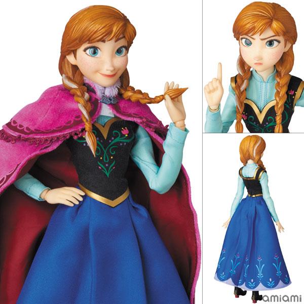 リアルアクションヒーローズ No.728 RAH アナと雪の女王 アナ[メディコム・トイ]【送料無料】《在庫切れ》