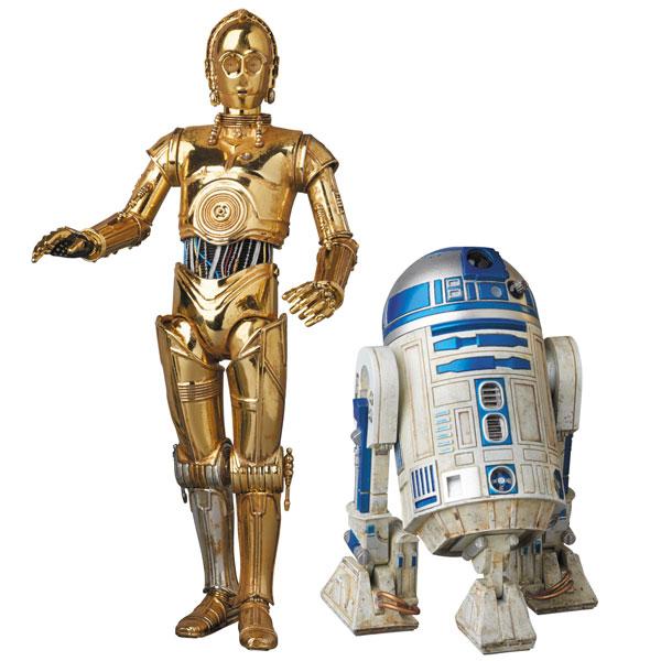 マフェックス No.012 MAFEX スター・ウォーズ C-3PO & R2-D2[メディコム・トイ]《発売済・在庫品》