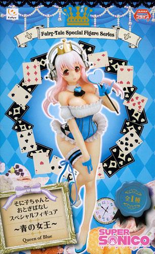 【中古】(本体A/箱B)すーぱーそに子 そに子ちゃんとおとぎばなしスペシャルフィギュア -青の女王-(プライズ)[フリュー]《発売済・在庫品》