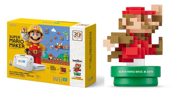 Wii U スーパーマリオメーカー スーパーマリオ30周年セット[任天堂]【送料無料】《在庫切れ》