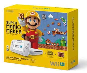 Wii U スーパーマリオメーカー セット[任天堂]【送料無料】《在庫切れ》