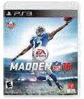 PS3 【北米版】Madden NFL 16[EA]《在庫切れ》