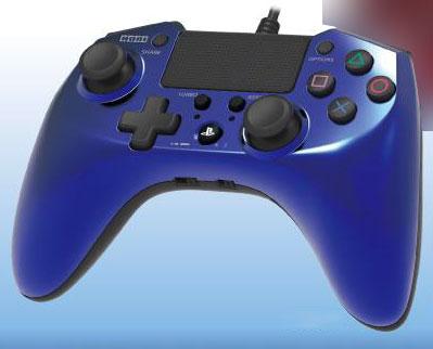 ホリパッドFPSプラスfor PlayStation4 ブルー[ホリ]《在庫切れ》