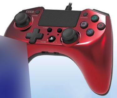 ホリパッドFPSプラスfor PlayStation4 レッド[ホリ]《発売済・在庫品》