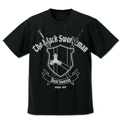 ソードアート・オンライン 黒の剣士ドライTシャツ/ブラック-M(再販)[コスパ]《12月予約》