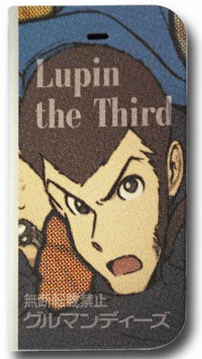 "Lupin III iPhone6 corresponding Flip Case (magnet type) Lupin III (LU-08A) [Gourmandise] ""November Reservations"""