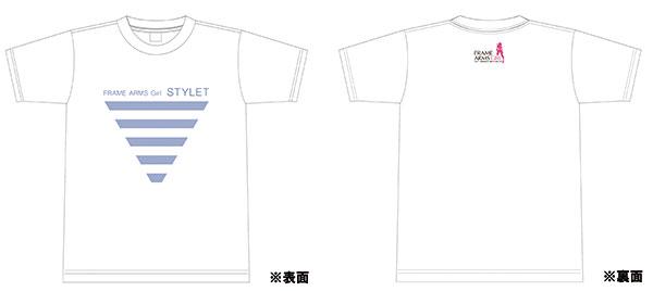 フレームアームズ・ガール スティレット -アイコニックTシャツ- Lサイズ[コトブキヤ]《取り寄せ※暫定》