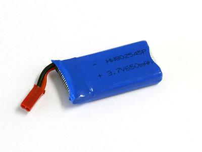 クアトロックスウルトラ用 Li-Poバッテリー(3.7V/650mAh)[京商エッグ]《発売済・在庫品》